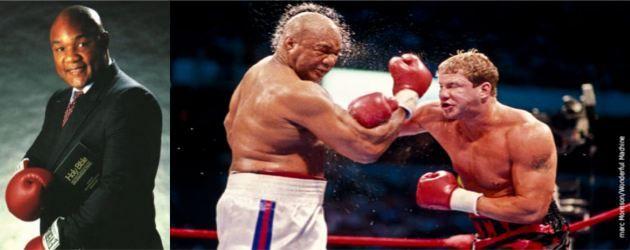 """George Foreman – """"Due volte campione del mondo nella categoria dei pesi massimi"""""""